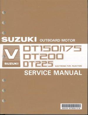 suzuki dt150 dt175 dt200 dt225 service manual 99500 87d08 01e rh brownspoint com suzuki dt150 outboard service manual Suzuki DT150 Serial Number