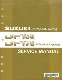 suzuki df150 df175 service manual 99500 96j03 01e rh brownspoint com suzuki df 150 owner's manual suzuki df150 service manual pdf