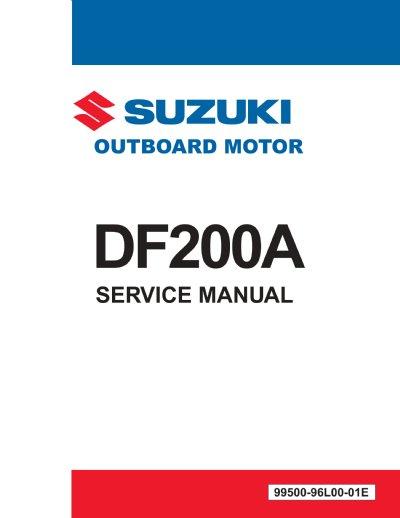 Suzuki Df A Service Manual
