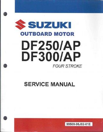suzuki df250ap df300 df300ap service manual 99500 98j02 03e rh brownspoint com Suzuki DF140 Suzuki DF150 White Cool