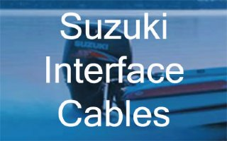 Suzuki Outboard SMIS Interface and Power Cables