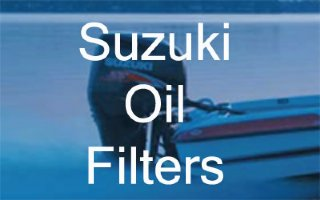 Suzuki Outboard Oil Filters