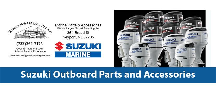 suzuki outboard parts & accessories - browns point marine service, llc