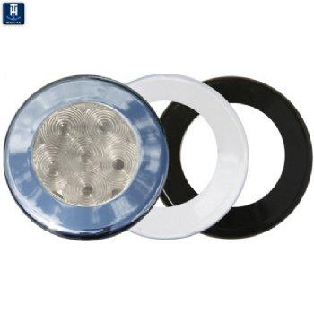 t h marine recessed led puck light 6 white led led 51847. Black Bedroom Furniture Sets. Home Design Ideas