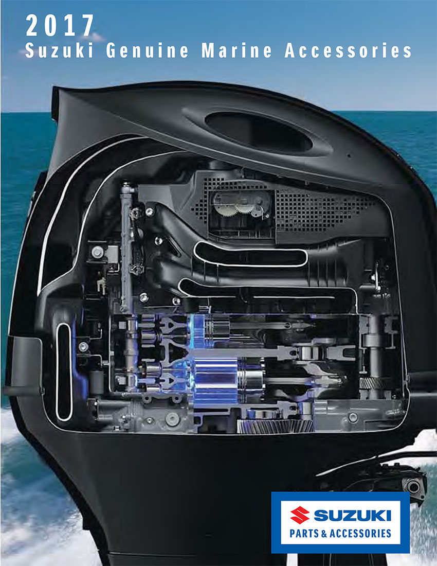 2017 Suzuki Marine <br>Accessories Catalog