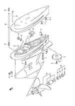 suzuki outboard parts df 200 parts listings browns point marine 2017 Suzuki Bikes suzuki df 200 fig 47 gear case