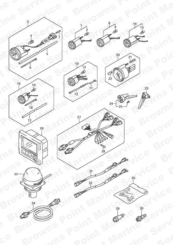 Suzuki Tach Gauge Wiring Diagram