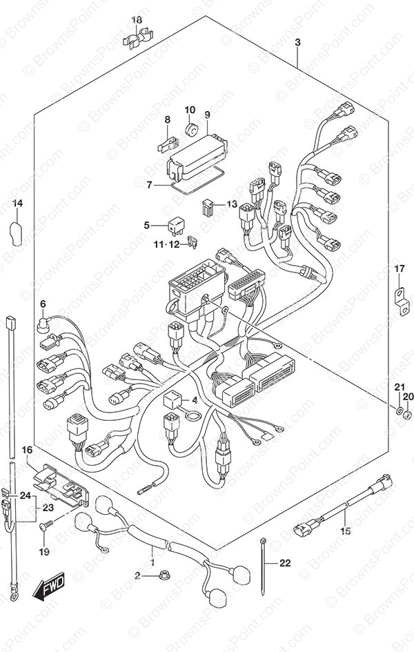 ferrari cooling fan wiring diagram