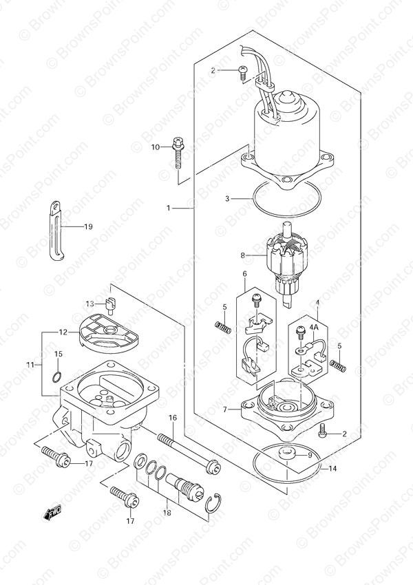 Fig 38 Ptt Motor Suzuki Df 140 Parts Listings 2002