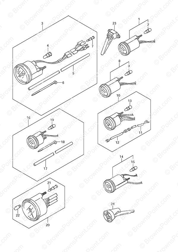 fig  46 - opt  meter - suzuki df 140 parts listings  n