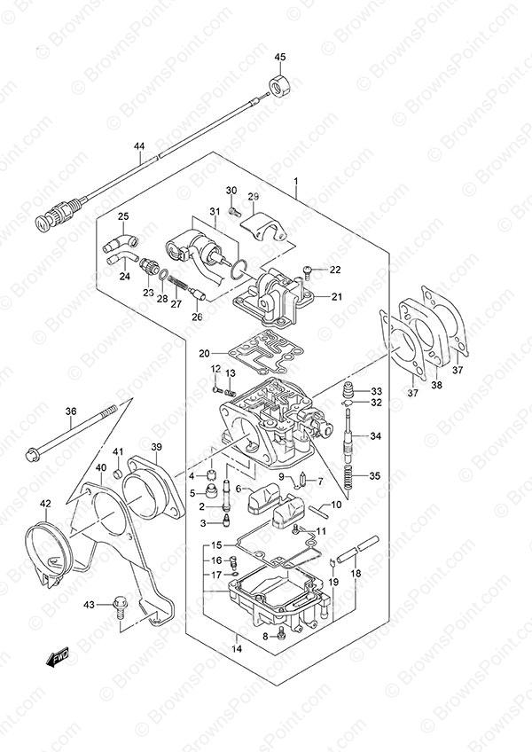 fig  8 - carburetor - non-remote control
