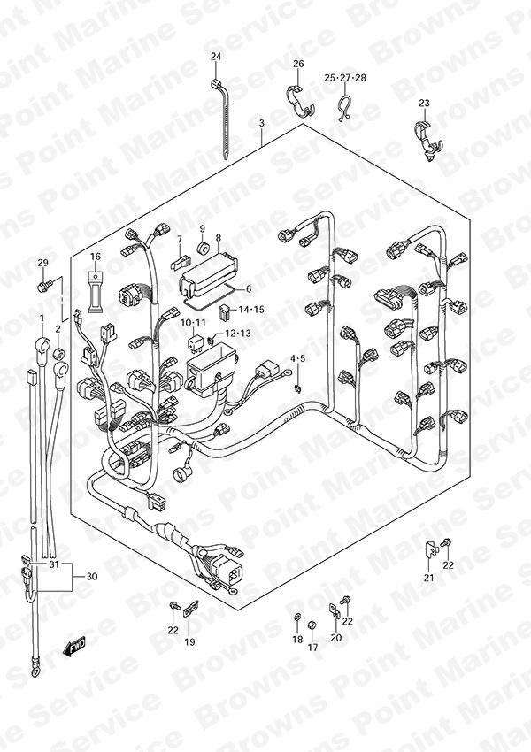 fig  23 - harness - suzuki df 300a parts listings