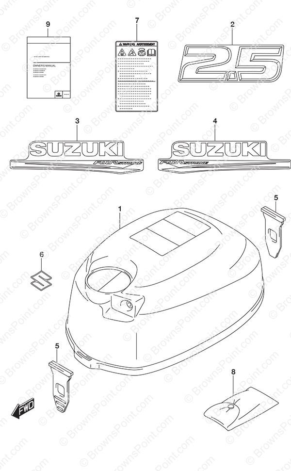 2 5 suzuki engine parts diagram trusted wiring diagram rh dafpods co Suzuki 2.5 Outboard Parts Suzuki 2.5 Prowler