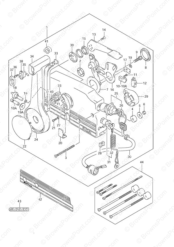 fig052 suzuki outboard parts df 60 parts listings browns point marine 2007 suzuki df 175 wiring diagram at nearapp.co