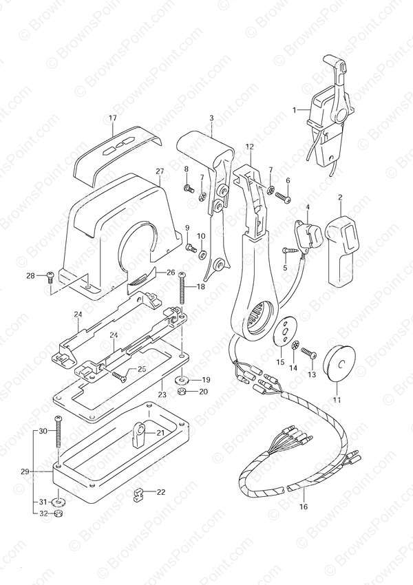 5 Hp Motor For Mercury Outboard Parts Diagram also Mercury Parts Diagram moreover 3s2sl Crankshaft Position Sensor 2006 F150 5 4 as well Wiring Diagram For 2008 Mercury Mariner furthermore 44283 Instrument Cluster Lights Not Working. on 2008 mercury mariner ignition switch
