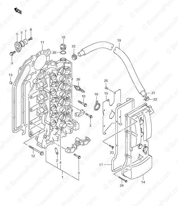 Suzuki  Outboard Head Gaskets