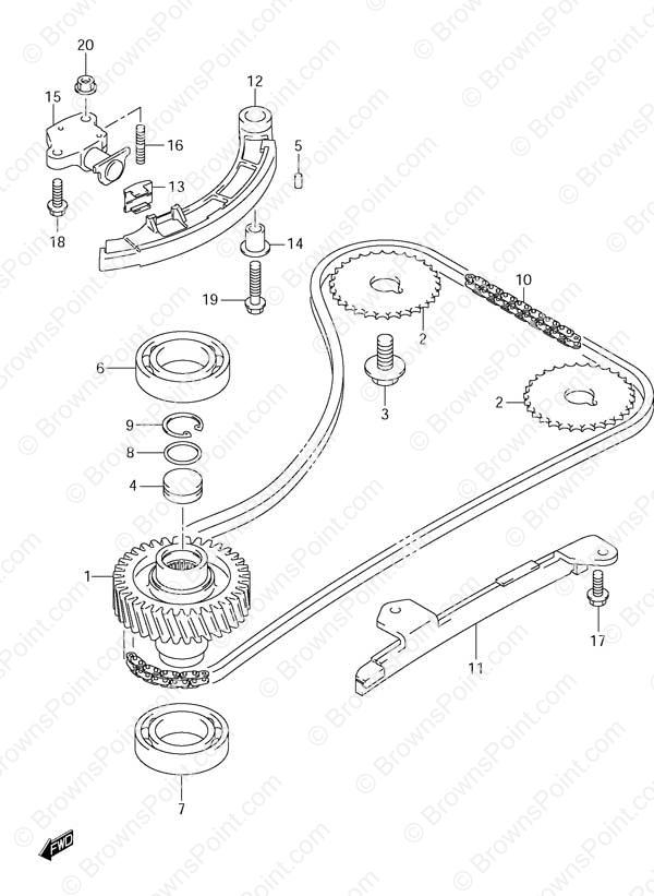 Timing Chain Suzuki S50
