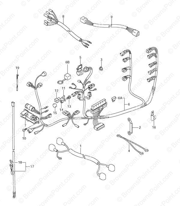 fig031 suzuki outboard parts df 115 parts listings browns point Boat Electrical Wiring Diagrams at crackthecode.co