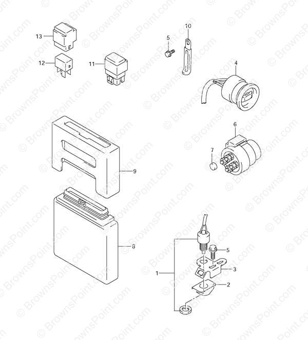 fig  32 - ptt switch  engine control unit