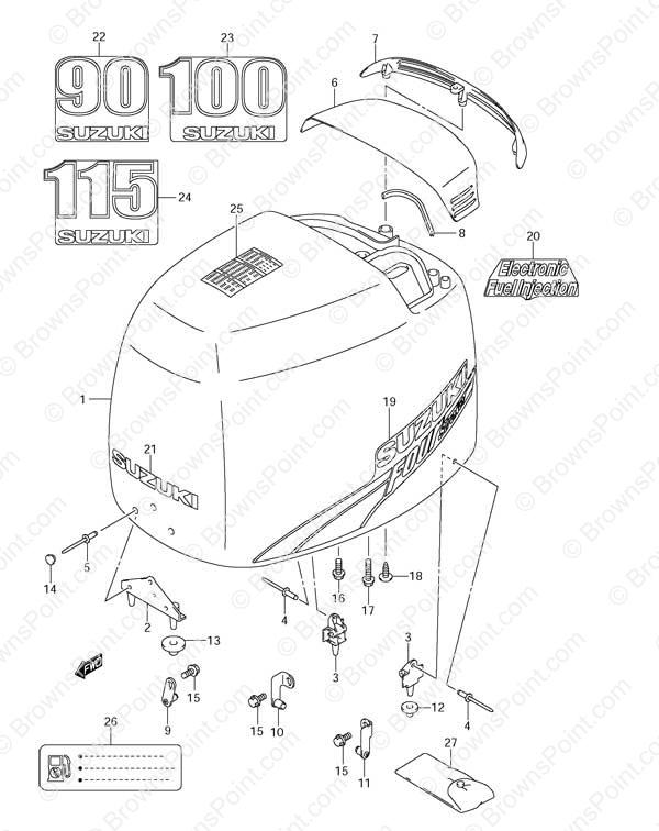 Suzuki Df115 Parts