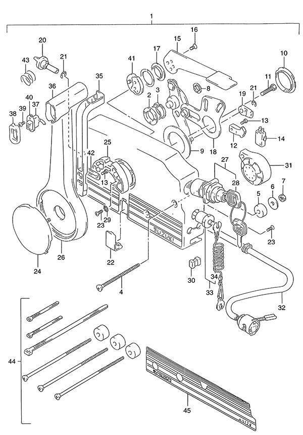 56 Remote Control Suzuki Dt 115 Parts Listings<br>1993: Wire Diagram Suzuki Dt115 At Executivepassage.co