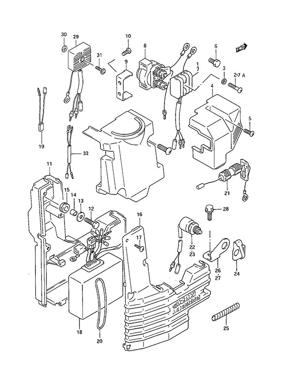 suzuki outboard parts dt 30c parts listings browns point Suzuki Dt85 Outboard Wiring Diagram suzuki dt 30c fig 15 electrical suzuki dt85 outboard wiring diagram