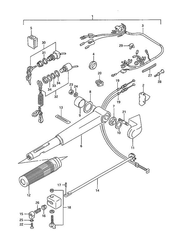 Fig  42 - Opt  Tiller Handle
