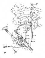 suzuki dt 55 fig  7 - oil pump