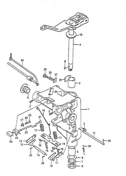 Suzuki Outboard Parts Fiche