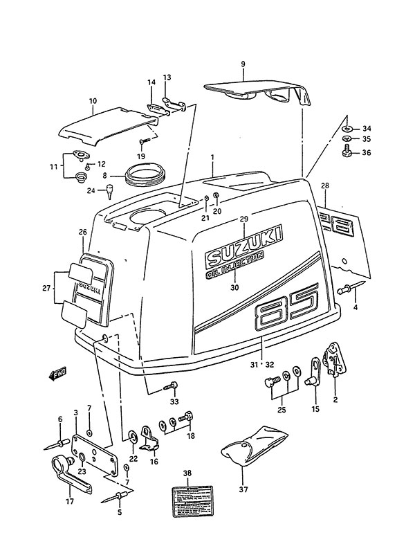 Fig  30 - Engine Cover