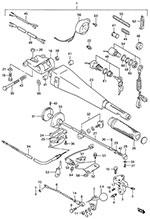 suzuki dt 75 fig  41 - opt: tiller handle