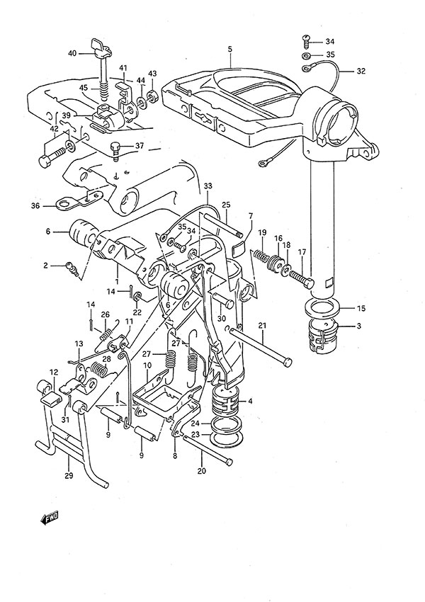as well S also Fig also Grande in addition nav Linear Actuator Diagram. on mercury outboard steering system